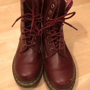 Doc Martens boots ox blood size 9
